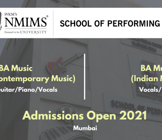 NMIMS Performing Arts Music