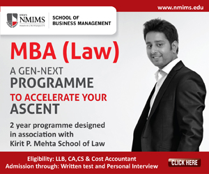 mba law, nmims. sbm